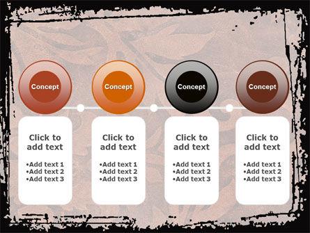 Carpet Ornament PowerPoint Template Slide 5