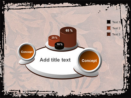 Carpet Ornament PowerPoint Template Slide 6