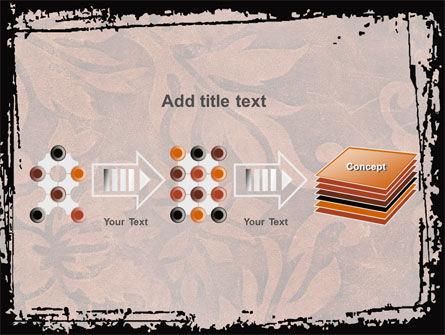 Carpet Ornament PowerPoint Template Slide 9