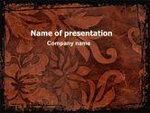 Art & Entertainment: Carpet Ornament PowerPoint Template #06380