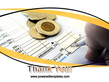 Budget PowerPoint Template Slide 20