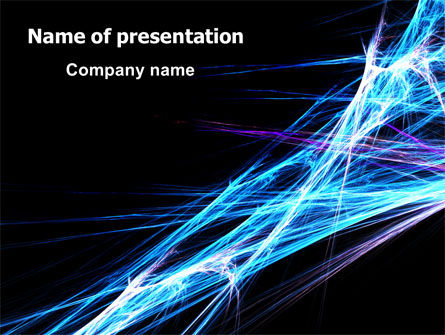 Abstract/Textures: Abstract Web PowerPoint Template #06382