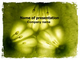 Nature & Environment: Microscopic Section Free PowerPoint Template #06383