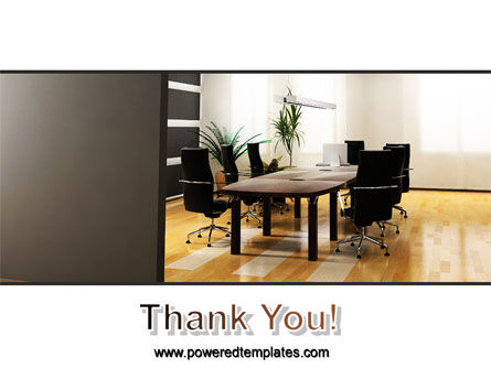 Company Conference Hall PowerPoint Template Slide 20