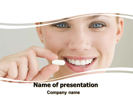 Medical: One Pill PowerPoint Template #06388