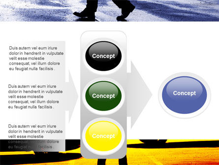 Sidewalk PowerPoint Template Slide 11