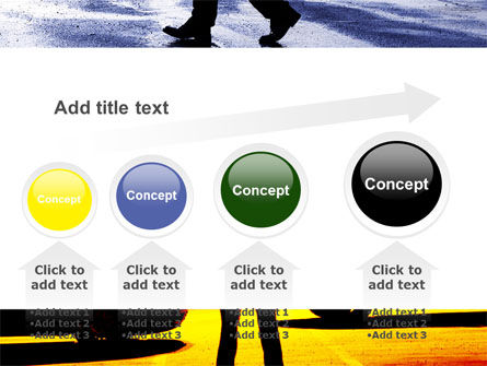 Sidewalk PowerPoint Template Slide 13