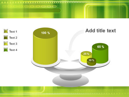 Green Abstract Frame PowerPoint Template Slide 10