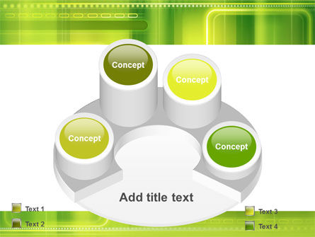 Green Abstract Frame PowerPoint Template Slide 12