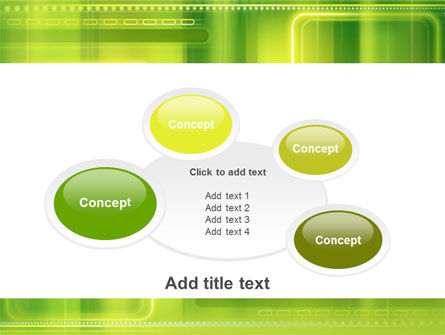 Green Abstract Frame PowerPoint Template Slide 16