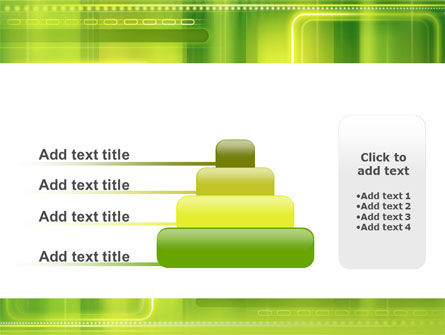 Green Abstract Frame PowerPoint Template Slide 8