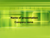 Abstract/Textures: Green Abstract Frame PowerPoint Template #06391