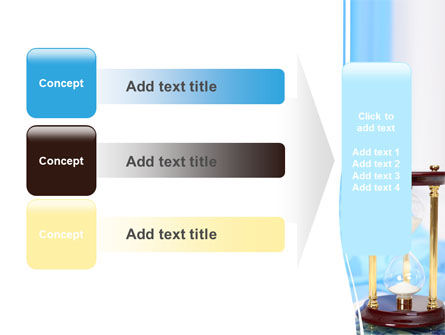 Ancient Hourglass PowerPoint Template Slide 12