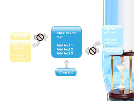 Ancient Hourglass PowerPoint Template Slide 13