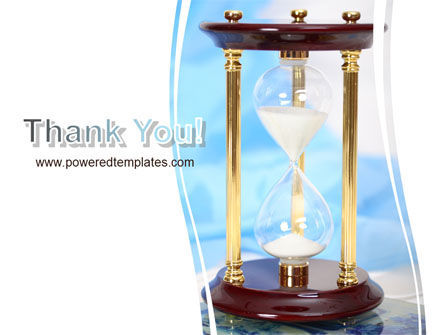 Ancient Hourglass PowerPoint Template Slide 20