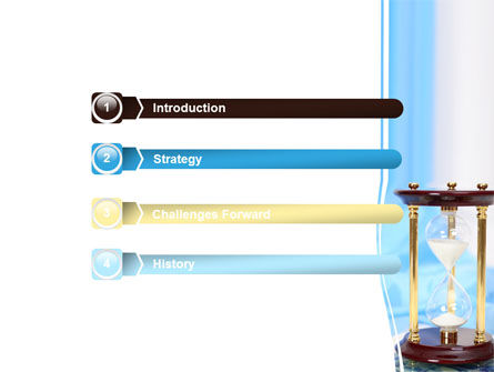 Ancient Hourglass PowerPoint Template, Slide 3, 06392, Consulting — PoweredTemplate.com