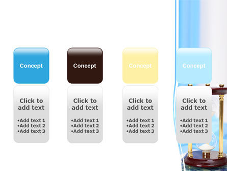 Ancient Hourglass PowerPoint Template Slide 5