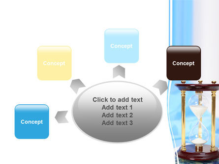 Ancient Hourglass PowerPoint Template Slide 7