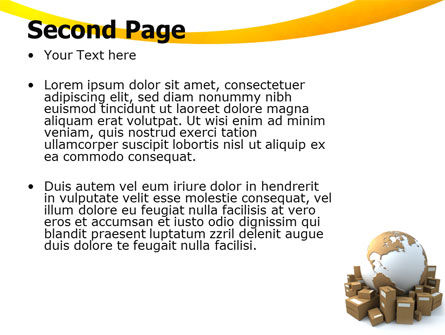 Packages PowerPoint Template Slide 2