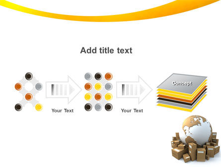 Packages PowerPoint Template Slide 9