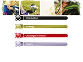 Pot Plants PowerPoint Template#3