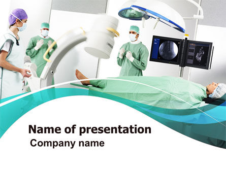 Preparing Of Operating Room PowerPoint Template