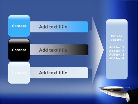 Waiter PowerPoint Template Slide 12