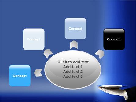 Waiter PowerPoint Template Slide 7