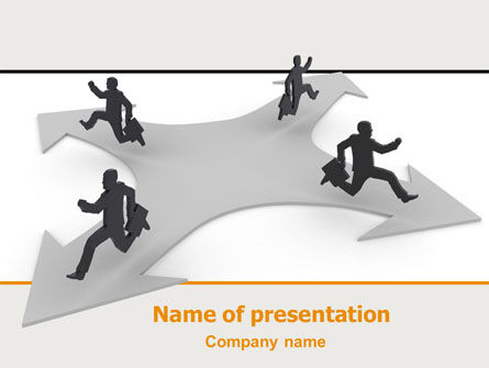 Consulting: Outflow of Capital PowerPoint Template #06401