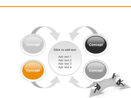 Outflow of Capital PowerPoint Template Slide 6