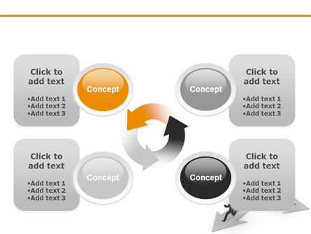 Outflow of Capital PowerPoint Template Slide 9