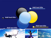 Sky Diving PowerPoint Template#10
