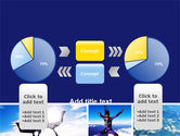 Sky Diving PowerPoint Template#11