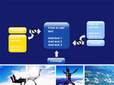 Sky Diving PowerPoint Template#13