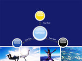 Sky Diving PowerPoint Template#14