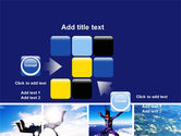 Sky Diving PowerPoint Template#16