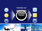 Sky Diving PowerPoint Template#17