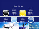 Sky Diving PowerPoint Template#19