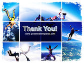 Sky Diving PowerPoint Template#20