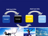 Sky Diving PowerPoint Template#4