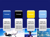 Sky Diving PowerPoint Template#5