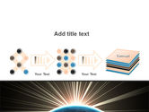 Sunrise from Space PowerPoint Template#9