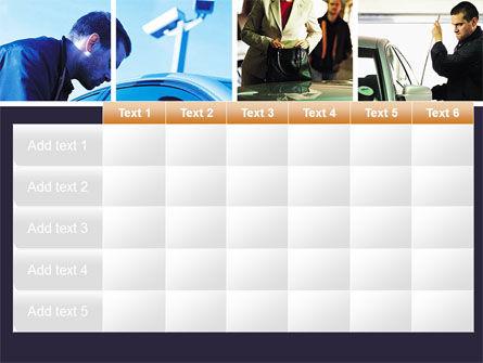 Car Crime PowerPoint Template Slide 15