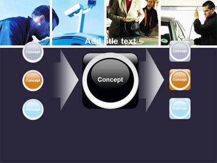 Car Crime PowerPoint Template Slide 17