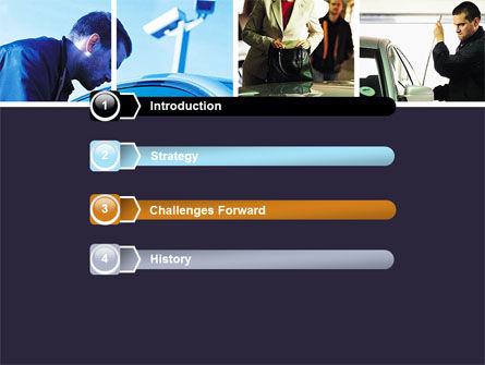 Car Crime PowerPoint Template Slide 3