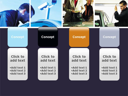 Car Crime PowerPoint Template Slide 5
