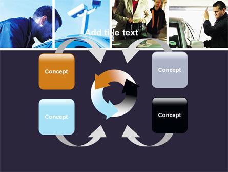 Car Crime PowerPoint Template Slide 6