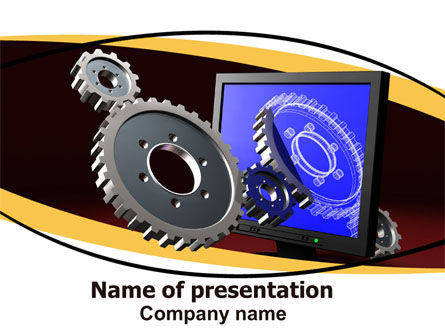 3D Design PowerPoint Template
