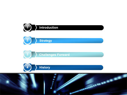 Blue Night PowerPoint Template, Slide 3, 06412, Cars and Transportation — PoweredTemplate.com