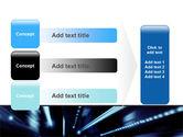Blue Night PowerPoint Template#12